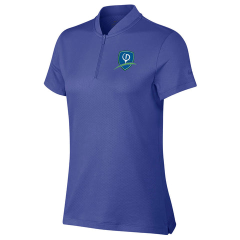 Nike Women's Dri-FIT Blade Golf Polo - Shield Logo (LC)