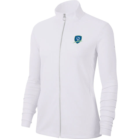 Nike Dri-FIT Ladies UV Full-Zip Cover Up - Shield logo