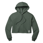 Mike Flaskey BELLA+CANVAS Women's Cropped Fleece Hoodie