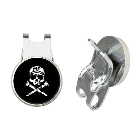 MF Golf Hat Clip and Bottle Opener with Ball Marker