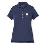 Peter Millar Women's Short Sleeve Button Polo - Shield (LC)