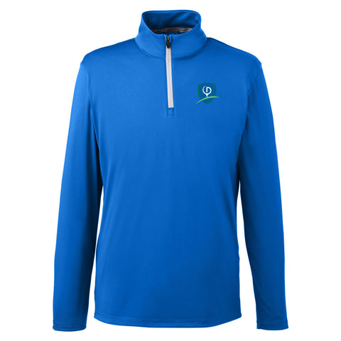 Puma Golf Men's Icon Quarter-Zip - Shield Logo (LC)