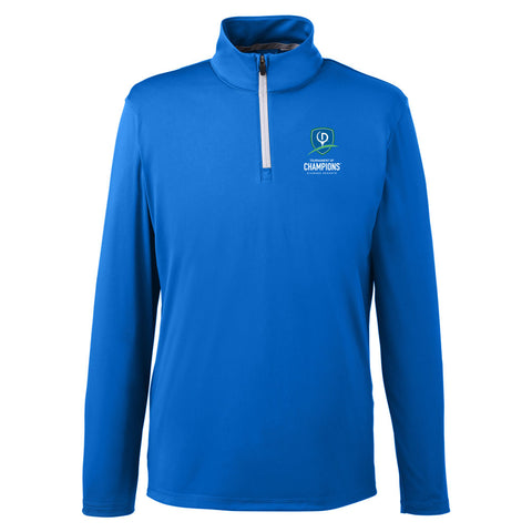 Puma Golf Men's Icon Quarter-Zip - TOC Logo (LC)