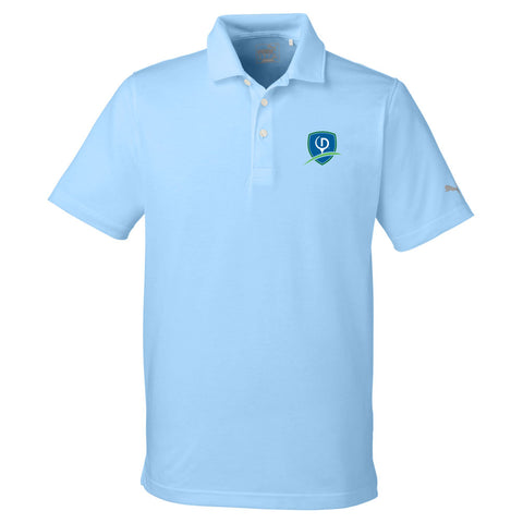 Puma Golf Men's Fusion Polo - Shield Logo (LC)