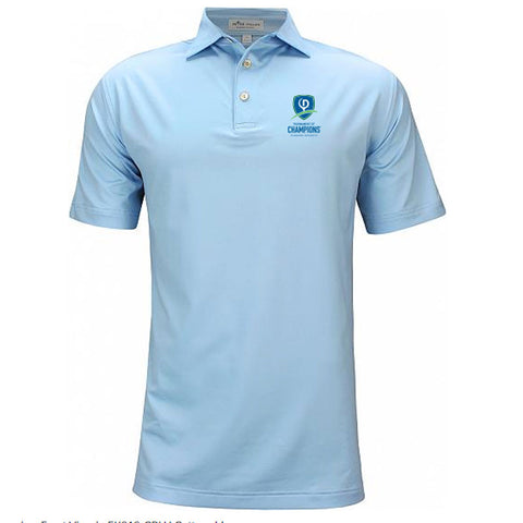 Peter Millar Solid Stretch Jersey Polo - TOC Logo (LC)