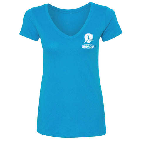 Tournament Tee (TOC LEFT CHEST) - Ladies - Blue