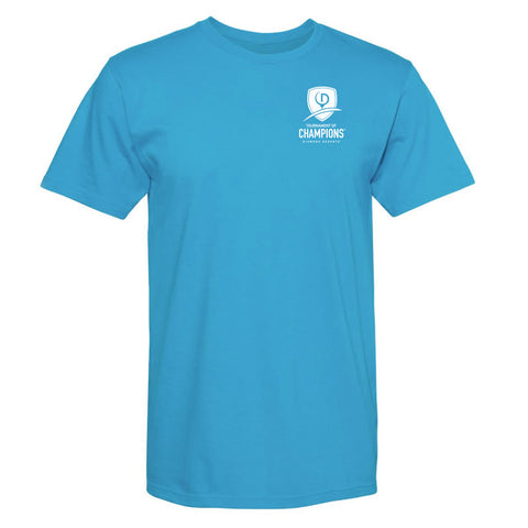 Tournament Tee (TOC LEFT CHEST) - Mens - Blue