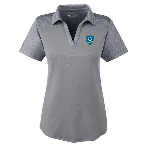 Under Armour Ladies' Corporate Colorblock Polo - Shield (LC)