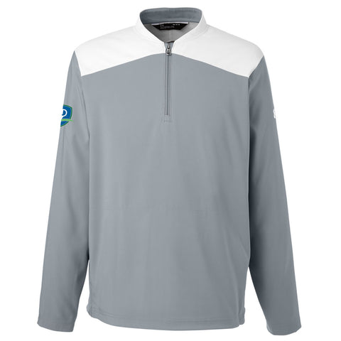 Under Armour Men's Corporate Triumph Cage Quarter-Zip Pullover - Shield (RS)