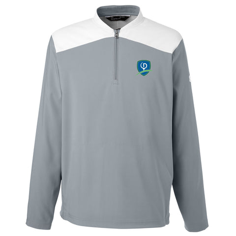 Under Armour Men's Corporate Triumph Cage Quarter-Zip Pullover - Shield (LC)