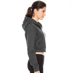 MF American Apparel - Women's Flex Fleece Crop Zip Hoodie