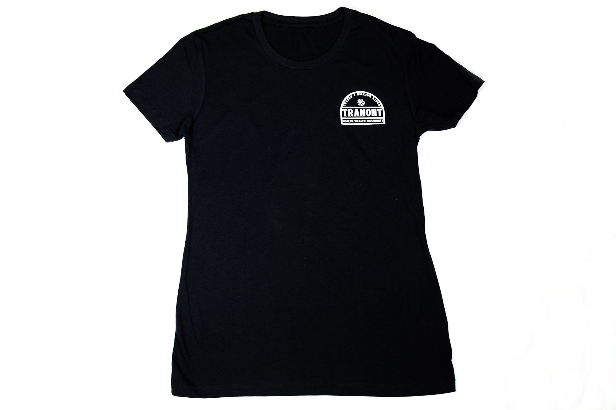 Black Arched T-Shirt
