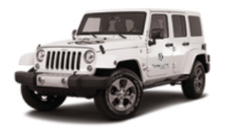 Tranont Jeep Wrangler Decal Set