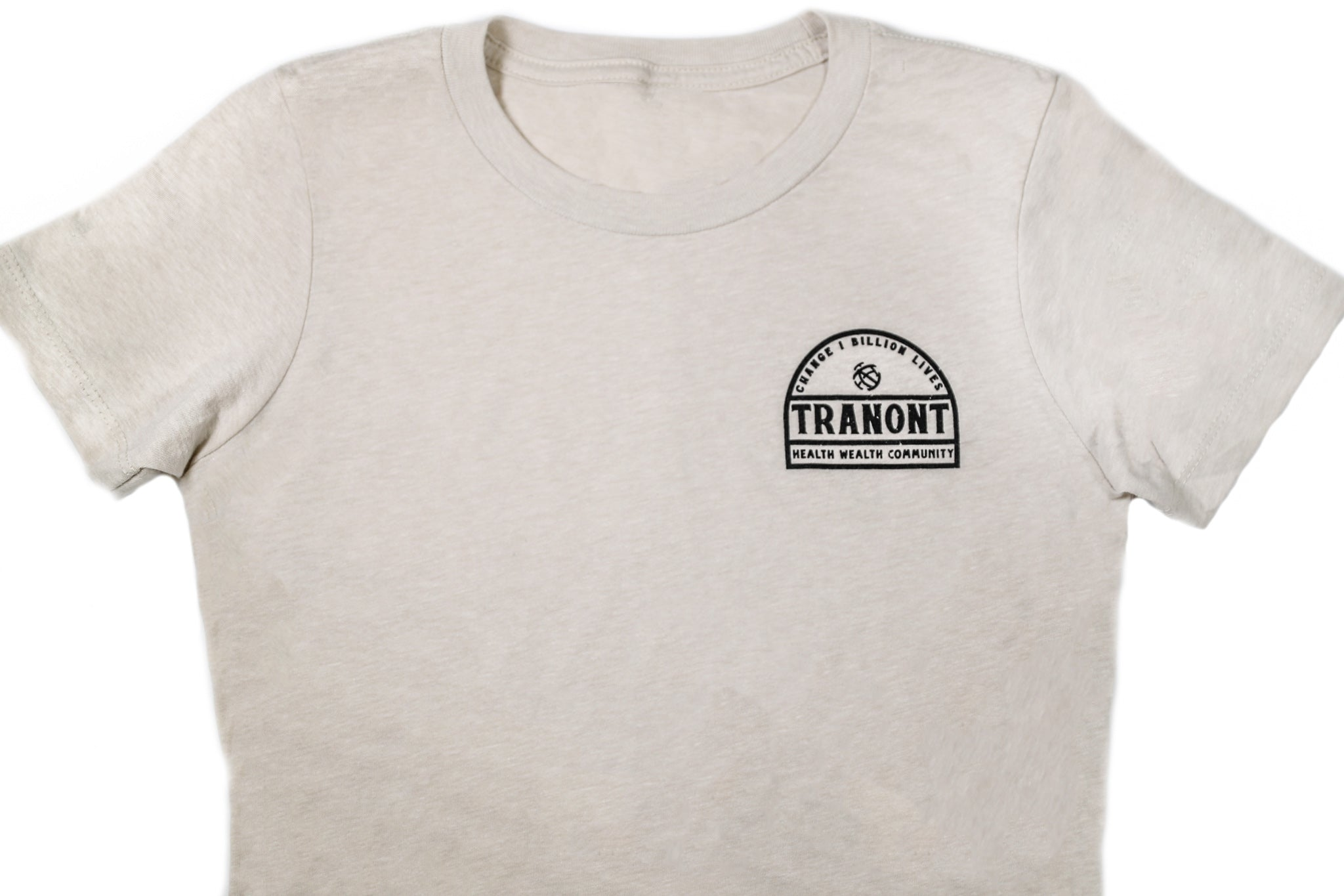 Tan Arched T-Shirt