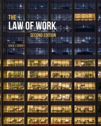Ebook The Law of Work 2nd Edition By David Doorey
