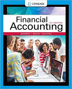 Test bank for Financial Accounting 15th edition by Carl S Warren , James M Reeve