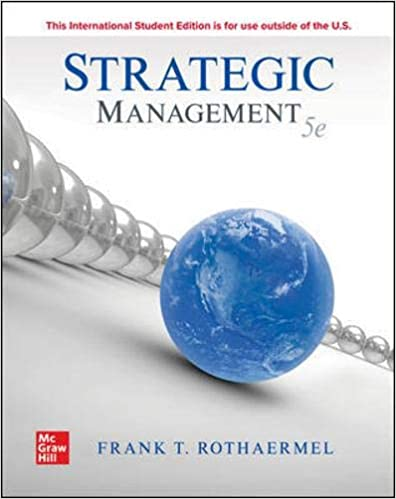 [PDF] [Ebook] for Strategic Management, 5th edition FRANK T. ROTHA