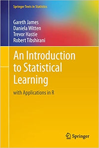 [PDF] [Ebook] An Introduction to Statistical Learning with Applications in R 1st Edition by Gareth James , Daniela Witten