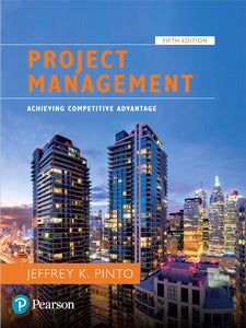 [PDF] [Ebook] Project Management Achieving Competitive Advantage 5th Edition by Jeffrey K. Pinto