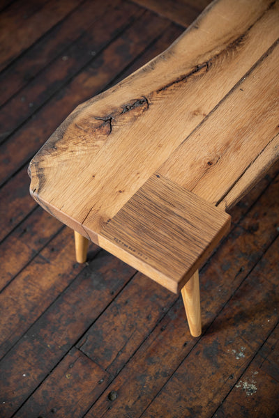 Buttmatched Bench