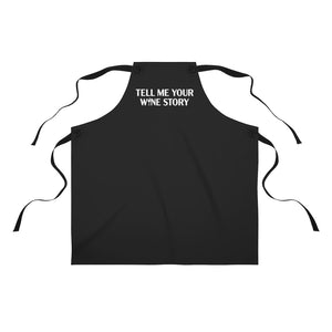 Open image in slideshow, Tell Me Your Wine Story Apron