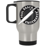 Paul Brach Silver Stainless Travel Mug