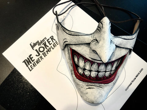 Joker Mask Template