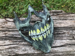 Swamp Skull Mask - Leather