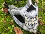 Skull Mask Gold Tooth