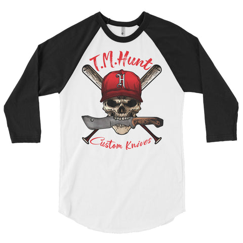 T.M. Hunt Baseball 3/4 sleeve