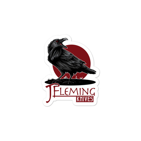 Jarrett Fleming Crow Sticker