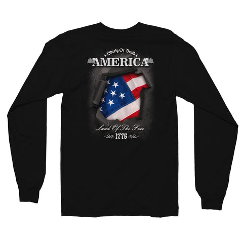Liberty or Death Long sleeve t-shirt