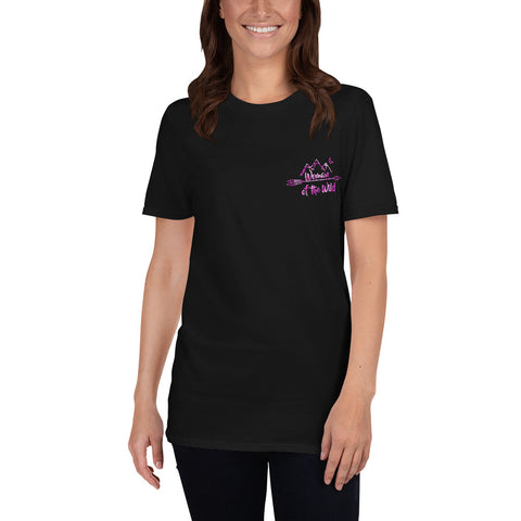 Woman of the Wild Pink Logo T-Shirt