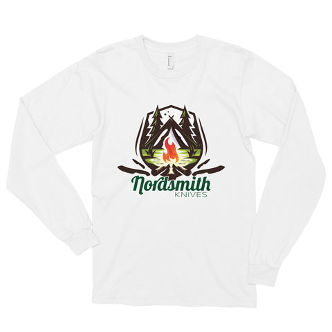 Nordsmith Knives Campfire Long sleeve t-shirt