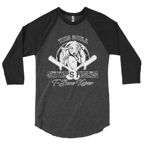 T-Bone Baseball 3/4 sleeve