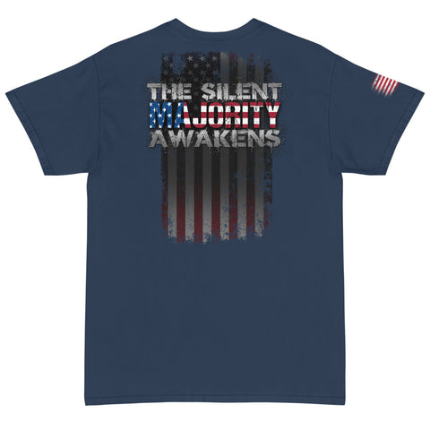 Silent Majority Awakens Short Sleeve T-Shirt