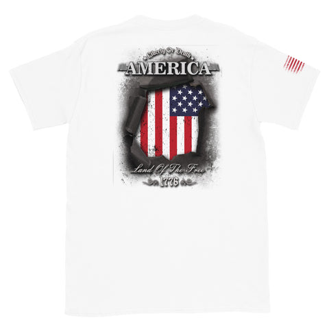 LIberty Or Death Short-Sleeve Unisex T-Shirt