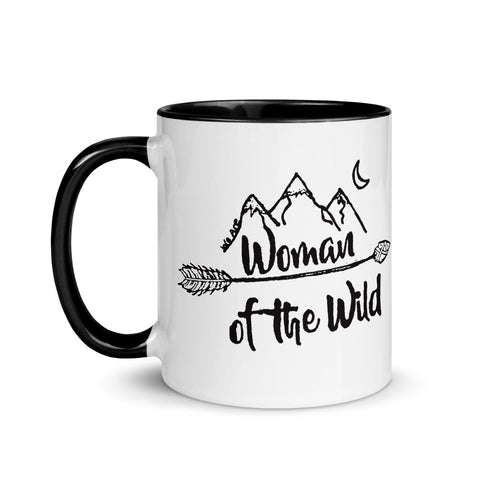 Woman of the Wild Mug with Color Inside