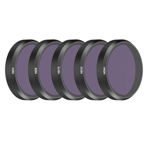 Skyreat ND Filter 5 Pack for Autel Evo II 6K (ND4, ND8, ND16, ND32, ND64)