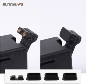 Sunnylife 4Pcs/Set Battery Charging Port Protectors for DJI FPV Drone