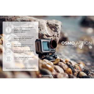 DJI Osmo Action Camera Filter - Bright Day - 4 Pack