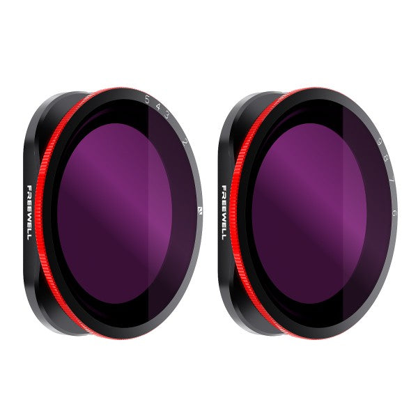 Gopro Hero 8 Black Variable ND filter - 2 Pack