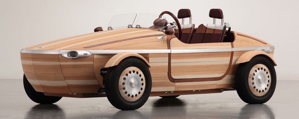 "A New ""Moment"" for Wood Paneled Cars: Toyota Introduces its Wooden Car Setsuna"
