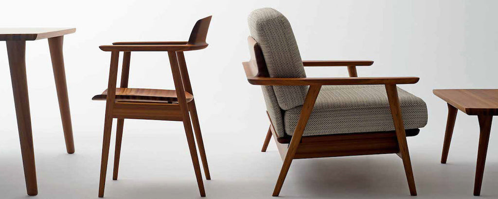 Examples Of Japanese Modern Furniture From Our Kisaragi Collection By Hida  Sangyo