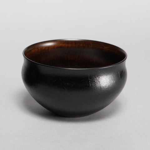Cafe au Lait Lacquer Bowl