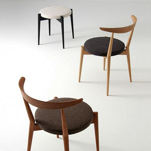 Forms Upholstered Stackable Chair