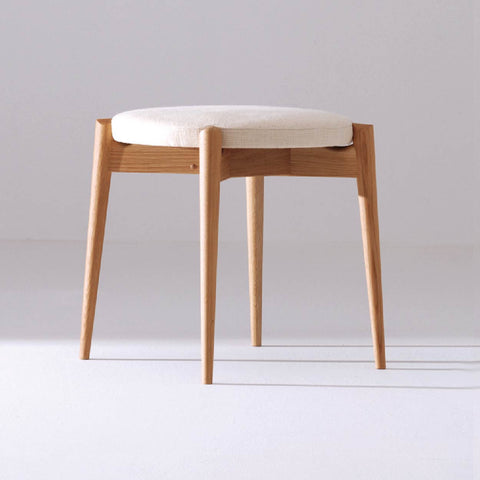 Forms Upholstered Stackable Stool