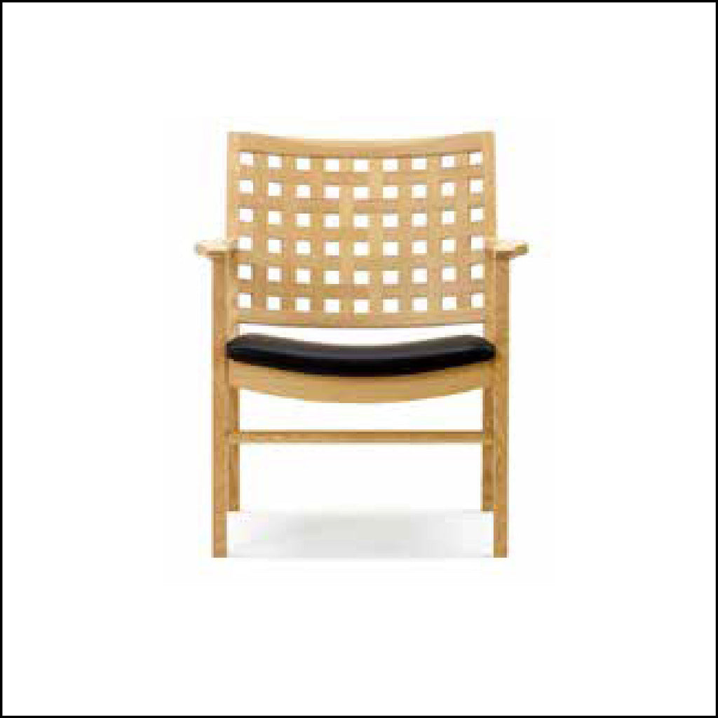 Beau ... TWW Lattice Back Low Chair