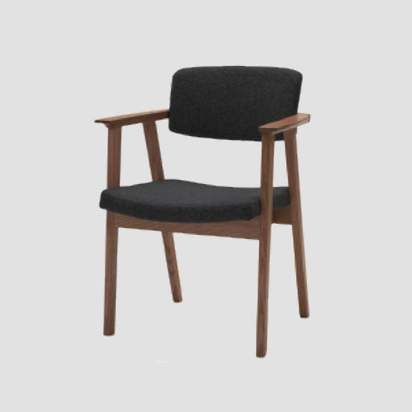 TWW Upholstered-Back Arm Chair