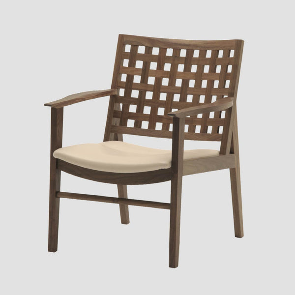 TWW Lattice Back Low Chair